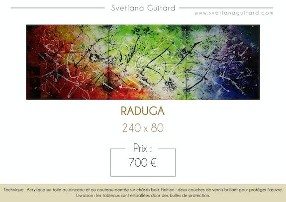 Tableau abstrait. Guitard Svetlana Svetlana Guitard