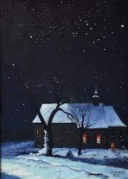 Nuit de Noël à notre Dame du Chêne.