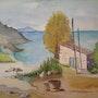 «Mazet du Pêcheur» Aquarelle. Nad'ev