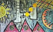 3 Soles falling. Wasamara Art