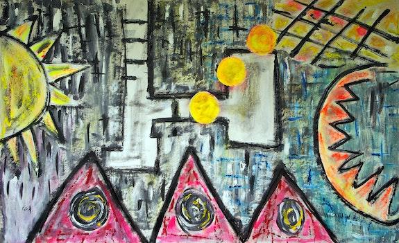 3 Soles falling. Wasamara Wasamara Art