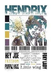 Jimi Hendrix. L'aquarelle Autrement