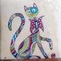 Le chat. Martine Levillain