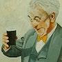 Happy to Have a Beer. John Atkinson