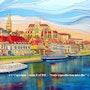 Auxerre - st germain. Alain Faure En Peinture