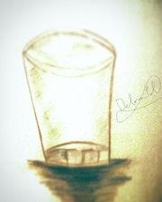 Baso de cristal.. Debora Pol