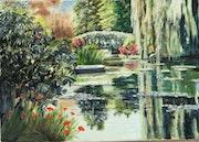 Le bassin aux nymphéas (Giverny).