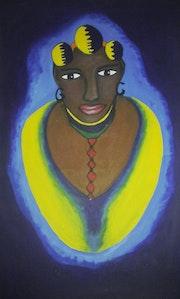Femme africaine. Désiré Mensah