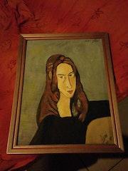 Modigliani par oscar.