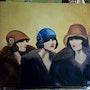 Les 3 demoiselles. Christine Venniro