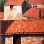 Provence - Toits en tuile. Jean-Pierre Dubreuil