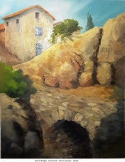 Stone Bridge - Provence.