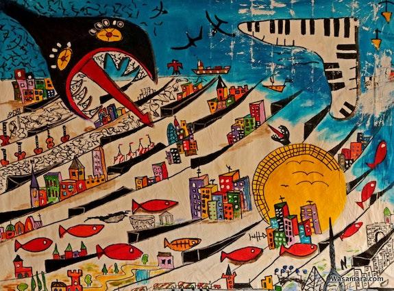 Piano City. Wasamara Wasamara Art