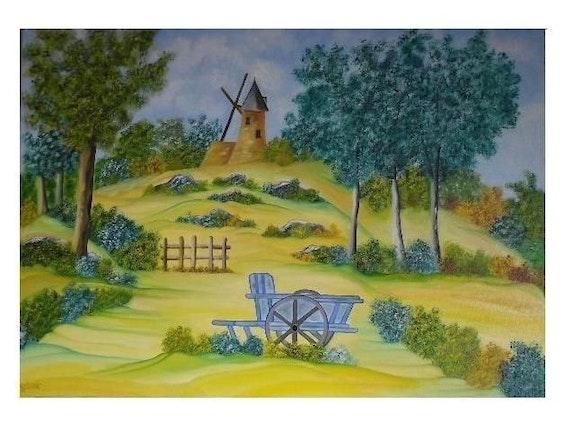 Le moulin de Saint Germain. Gerard Flohic Gerard Flohic