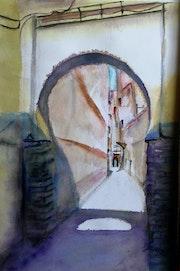 Por la medina. Ramon Larrauri