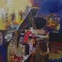 La note rouge ou la pianiste. Jacques Donneaud