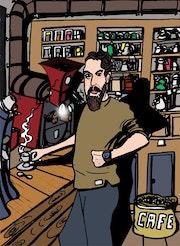 La fabrique du café à Limoges.