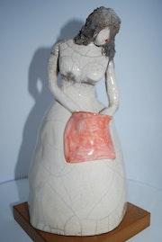 Superbe statuette qui se prenomme Sacha. Du Bout Des Doigts