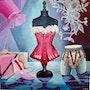 Glam's Pink Série Textiles et Dentelles. Ateliers Les Jartdins De Sabila