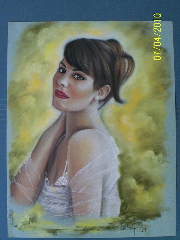 Retrato de mujer. Pedro Manuel Gil Coines Steve Foster Macadams