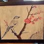 L'oiseau sur la branche. Marlène Boisson