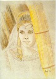 «La Mariée» Sanguine.