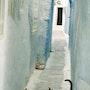 La ruelle aux chats Hammamet. Kinou