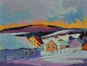 (Temps de froidure) Charlevoix Québec Canada. Jacques Sevigny