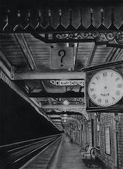 Le quai de gare.