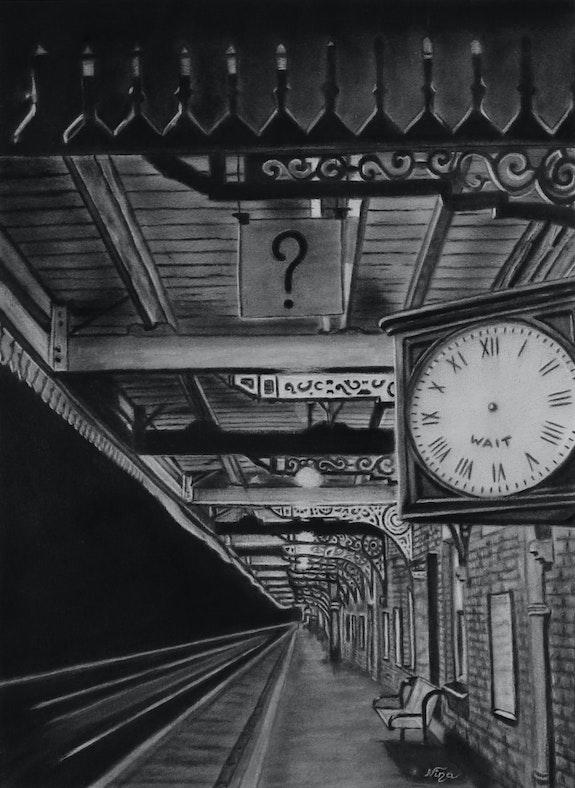The train station. Nina Nina