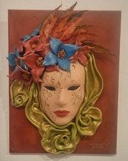Carnaval. Máscara Veneciana..