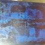 L homme bleu. Thierry Masson