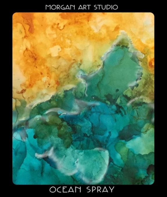 Ocean. Gerryjo Morgan Morgan Art Studio