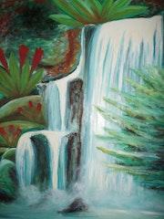 Cascade tropicale. Eric Le Dévédec