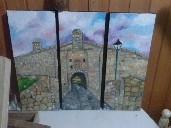 Almeida puertas de entrada a la vila. Adelaide (Lai S) Maria Adelaide Sanches Soares