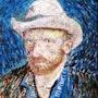 El sombrero de Van Gogh Óleo sobre lienzo 34 X 29. Blasco