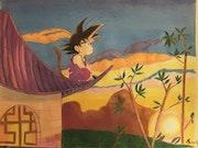 Son Goku home. Miguel Vargas