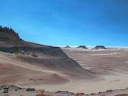 Sahara algérien, région de Timimoun, d'après une de mes photos.