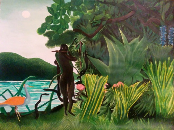La charmeuse de Serpent. Henri Rousseau (Reproduction Personnelle) Anthony Rougeot