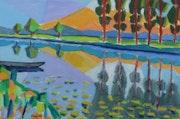 Un paysage du marais Poitevin. Jean-Claude Robin