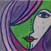 Labios rojos. Valerie Hauenstein