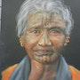 Aborigène australienne. Elleditliane