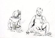 Le bac à sable. Anne-Marie Vandorpe Deligne