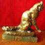 Thomas cartier - Chat se léchant. Antiquité & Collection 78
