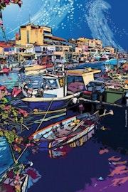 Le port de Palavas les flots en Fête.