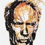 Clint in graphic design. Créartiss/créactif