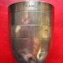 Timbale en Argent - Au nom de François. Antiquité & Collection 78