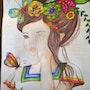 Cabeza florida. Ana Paula Di Nucci