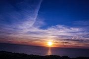 Atardecer en Cabo Blanco, Mallorca.