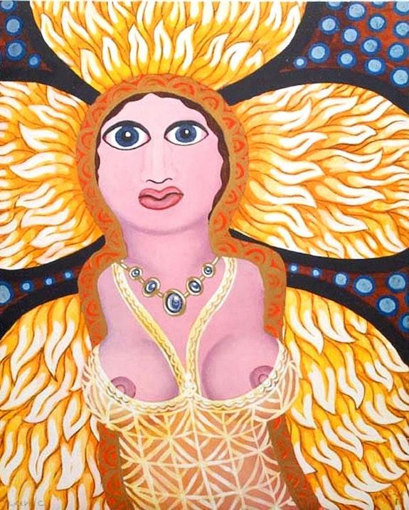 Erotische Sonnengüttin. Robert Zeppel-Sperl Galerie Liebreiz